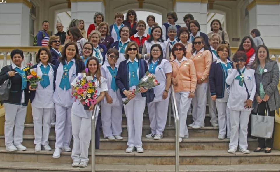 Imagen de voluntarias del Hospital. Foto.