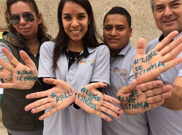 Foto voluntarios corporativos